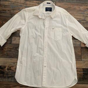 American Eagle casual button down shirt